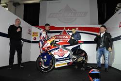 Fausto Gresini, Team Manager Federal Oil Gresini Moto2 and Jorge Navarro, Federal Oil Gresini Moto2