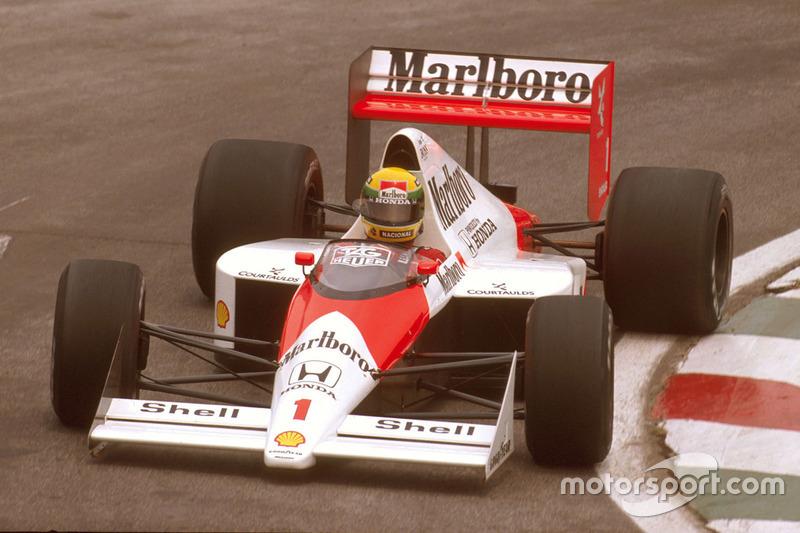 1989 Meksika: McLaren MP4/5