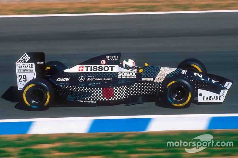 Andrea de Cesaris, Sauber C13 Mercedes
