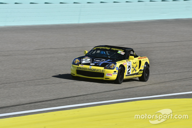 #2 MP4B Toyota MR2 driven by Michael Monsalve of Mikespeed Scuderia