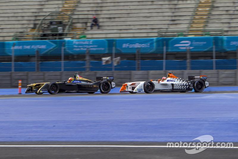Esteban Gutiérrez, Techeetah y Loic Duval, Dragon Racing