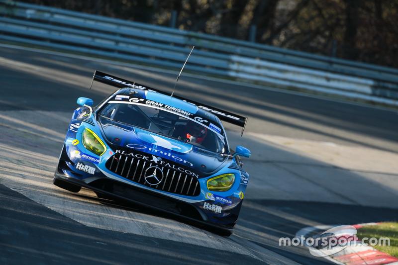 Hubert Haupt, Abdulaziz Al Faisal, Daniel Juncadella, Luca Stolz, AMG-Team Black Falcon, Mercedes AMG GT3