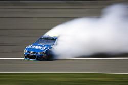 Tête-à-queue de Jimmie Johnson, Hendrick Motorsports Chevrolet