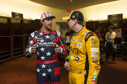 Travis Pastrana and Kyle Busch
