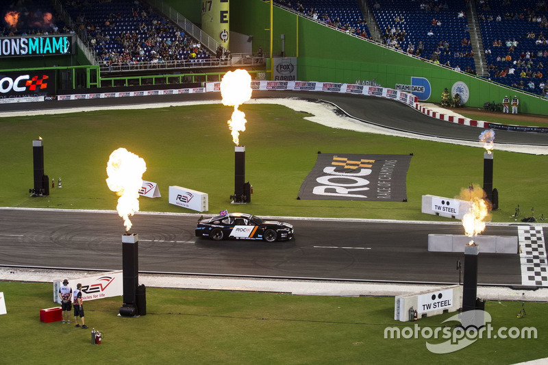 David Coulthard, in de Whelen NASCAR