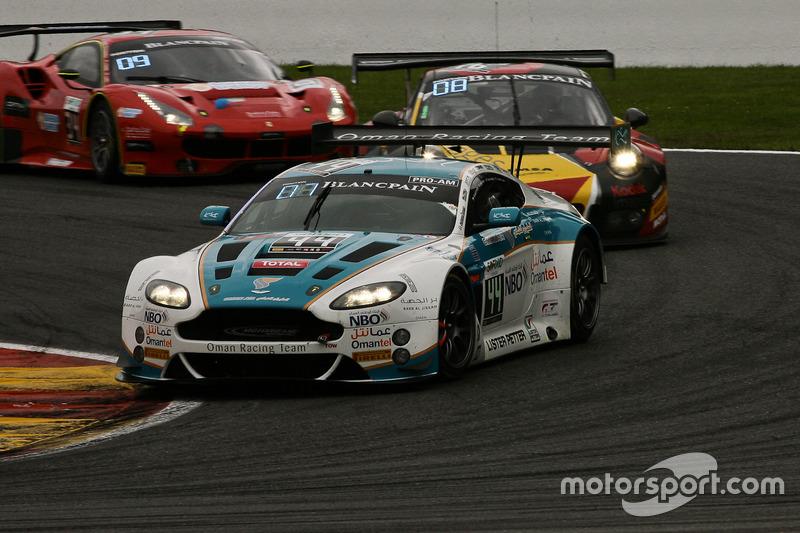 #44 Oman Racing Team, Aston Martin Vantage GT3: Ahmad Al Harthy, Devon Modell, Jonathan Adam, Daren Turner
