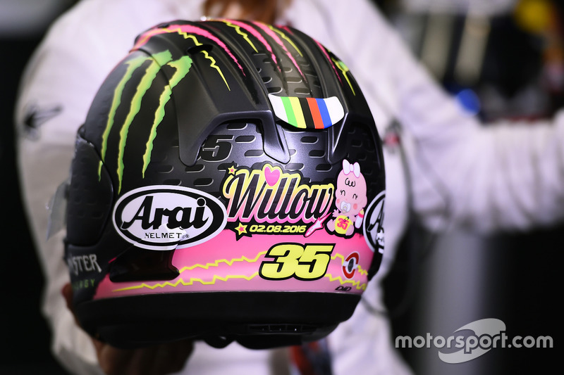 Cal Crutchlow, Team LCR Honda, helmet