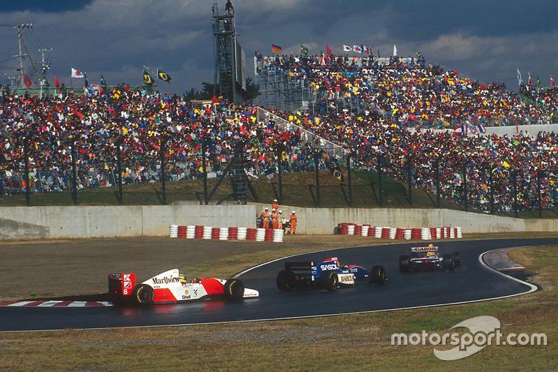 Ayrton Senna vs Eddie Irvine