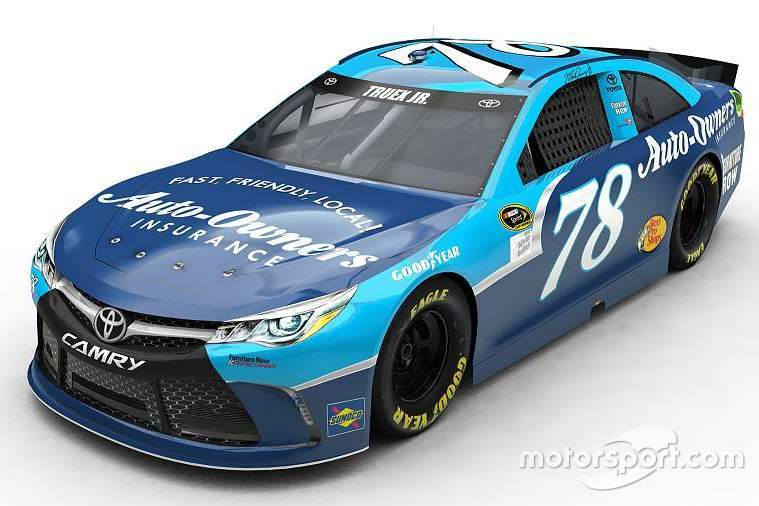 Martin Truex Jr., Furniture Row Racingt throwback