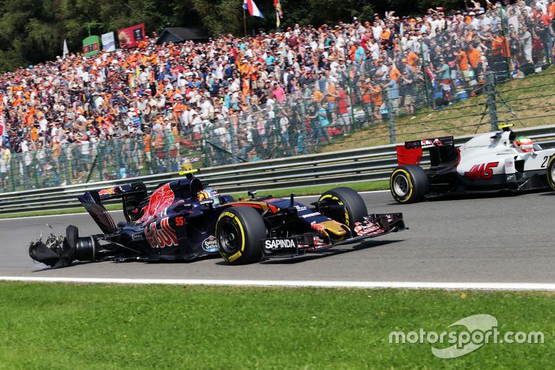 Toro Rosso: 0 очков