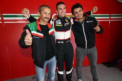 Ferrari F458 Italia команды AT Racing: Александр Талканица-ст., Александр Талканица-мл., Алессандро Пьергвиди; поул в категории LM GTE