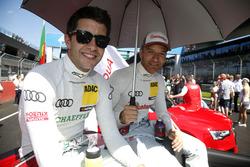 Mike Rockenfeller, Audi Sport Team Phoenix, Audi RS 5 DTM und Timo Scheider, Audi Sport Team Phoenix