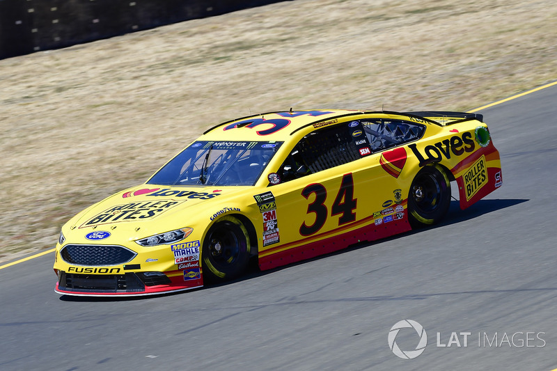 22. Michael McDowell, Front Row Motorsports, Ford Fusion Love's Travel Stops / Roller Bites