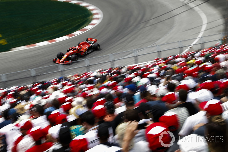 GP de Canadá: Sebastian Vettel (Ganó la carrera)