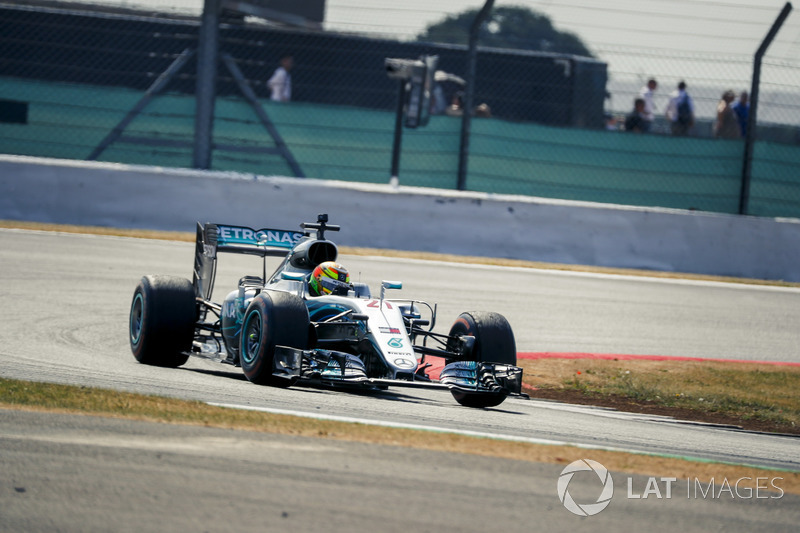 Эстебан Гутьеррес, Mercedes AMG F1 W07 Hybrid