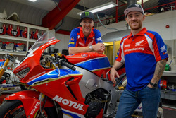 Ian Hutchinson and Lee Johnston, Honda Racing