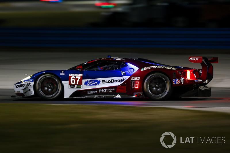 25.- #67 Chip Ganassi Racing Ford GT, GTLM: Ryan Briscoe, Richard Westbrook, Scott Dixon