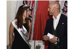 Miss Yokohama 2017-2018, Mariangela Logozzo, sul palco alla cerimonia dell'ASS a Berna