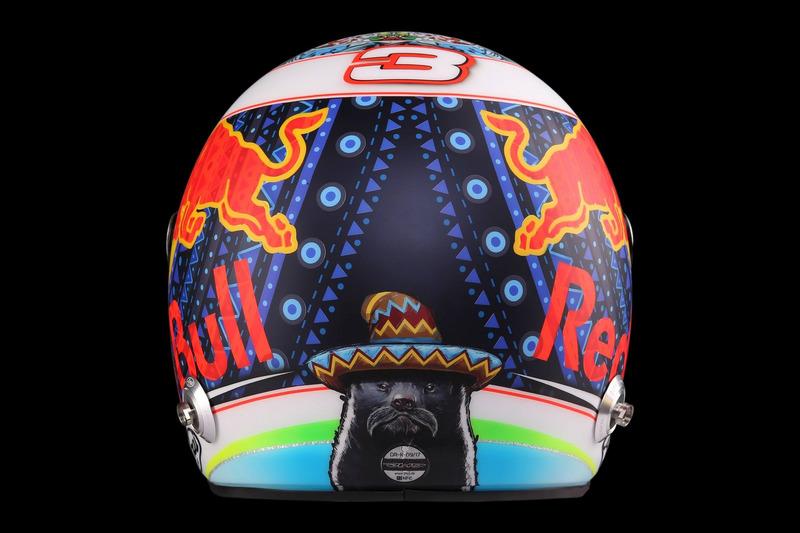 Kask, Daniel Ricciardo