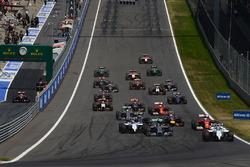 Felipe Massa, Williams FW36 al comando alla partenza della gara
