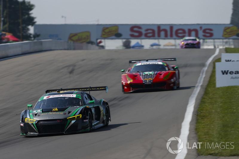 #44 Magnus Racing Audi R8 LMS GT3, GTD: John Potter, Andy Lally, Andrew Davis