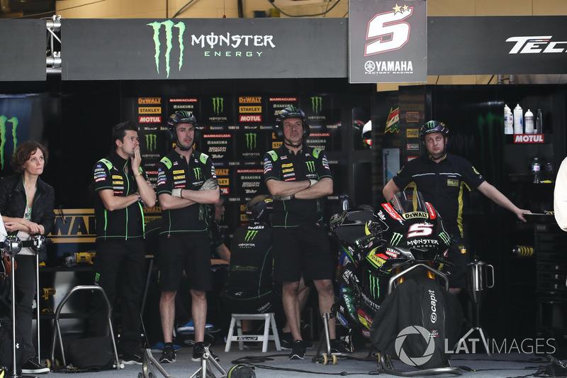 Garage of Johann Zarco, Monster Yamaha Tech 3