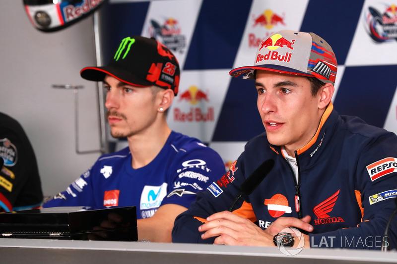 Press Conference: Marc Marquez, Repsol Honda Team, Maverick Viñales, Yamaha Factory Racing