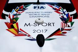 Ford Fiesta WRC, M-Sport logo