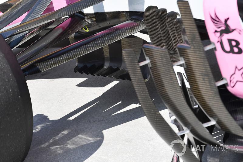 Force India VJM11 aero detail