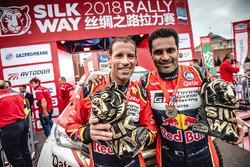 Winners #103 X-Raid Team Mini: Yazeed Al Rajhi, Timo Gottschalk