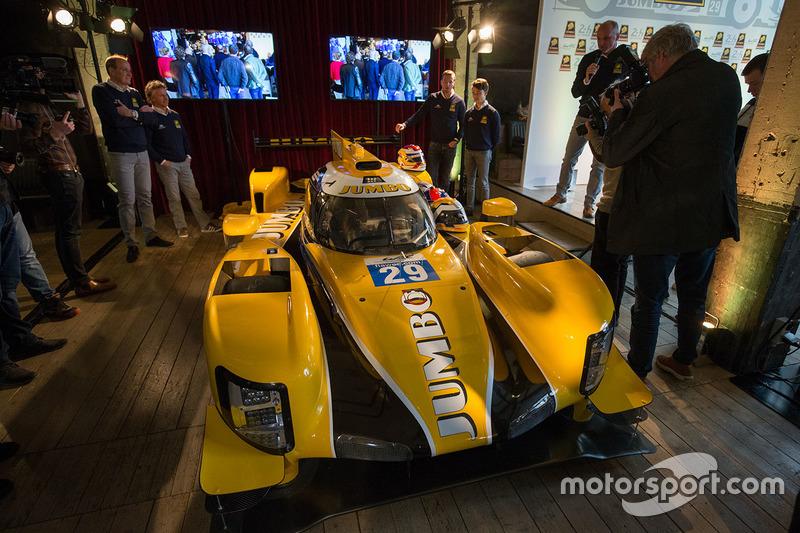 Presentación Racing Team Nederland