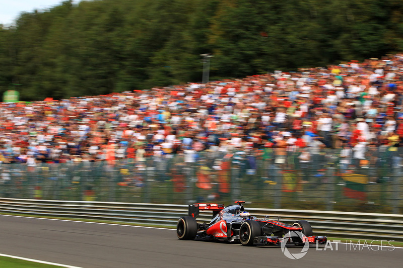 Jenson Button, McLaren MP4-27