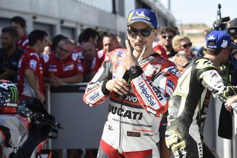 Pole position pour Jorge Lorenzo, Ducati Team