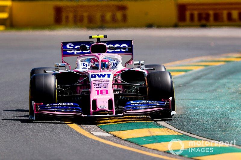 9. Ленс Стролл, Racing Point — 2