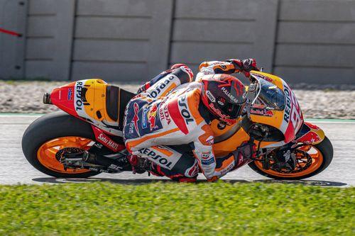 Marquez Barcelona testing