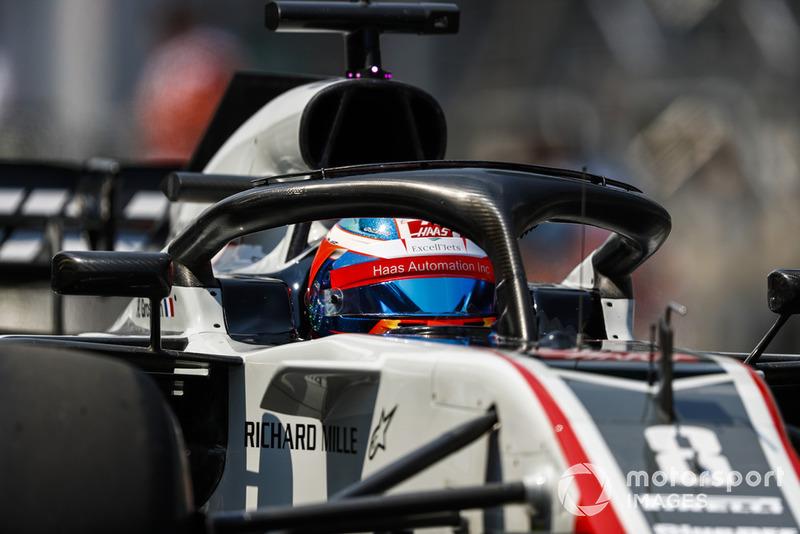 P16: Romain Grosjean, Haas F1 Team VF-18