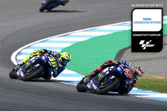 Maverick Viñales, Valentino Rossi, Yamaha Factory Racing Thailand GP Tata Communications feature