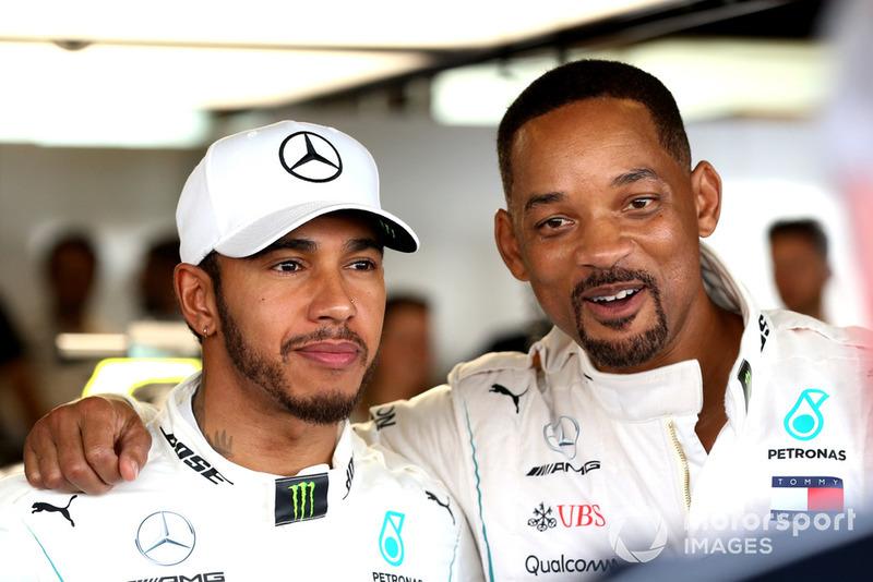 Льюіс Хемілтон, Mercedes AMG F1, Вілл Сміт