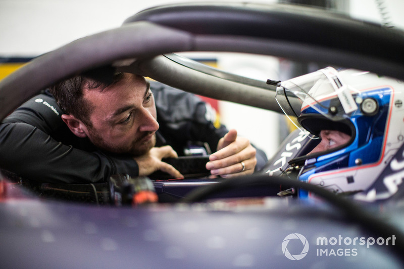 Engineer of Sam Bird, Envision Virgin Racing, Audi e-tron FE05