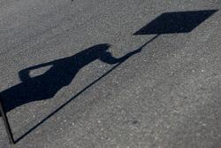Grid girl shadow