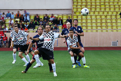 Felipe Massa, Williams at a charity football match