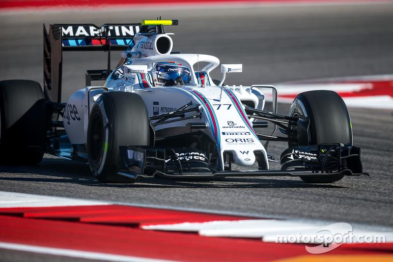 Valtteri Bottas, Williams FW38, Halo kokpit ile
