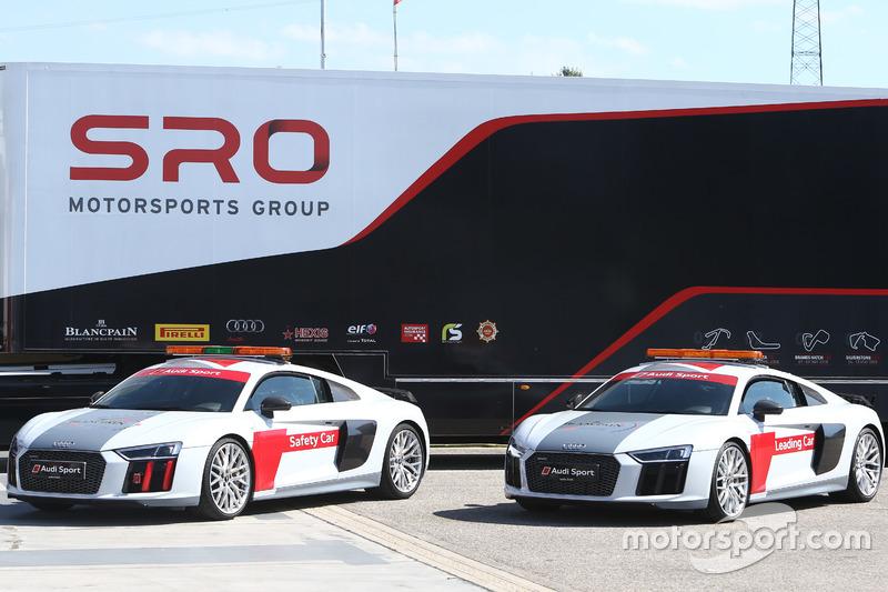 SRO Audi R8 safety cars