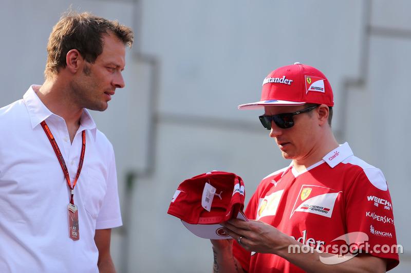 Alex Wurz e Kimi Raikkonen, Scuderia Ferrari