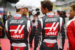 Ромен Грожан, Haas F1 Team VF-16, Естебан Гутьєррес, Haas F1 Team VF-16