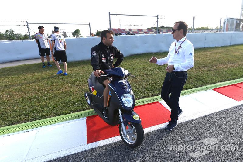 Johann Zarco, Ajo Motorsport, in der Schikane, die Kurve 12 umgeht