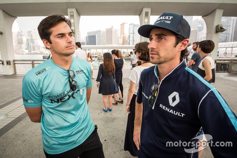 Nelsinho Piquet e Nicolas Prost