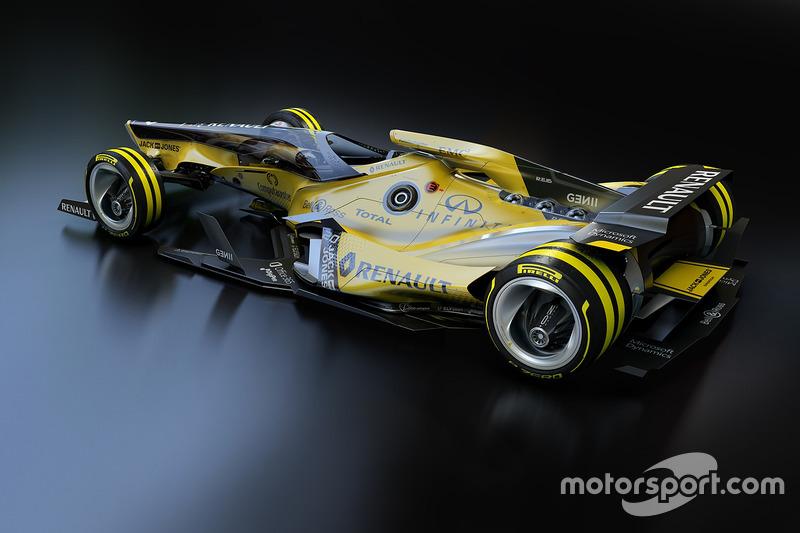 Renault F1 Team 2030 fantasy design