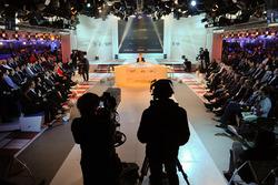 Atmosphäre bei der Pressekonferenz