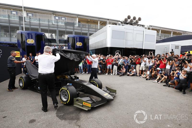 Mobil baru Formula 2 2018